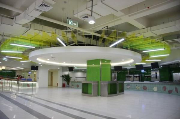 obzavejdane ofis tavan lampi interior