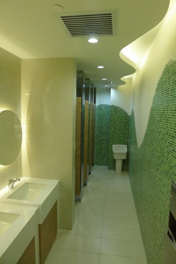 ofis toaletna banq mivki interior zeleno
