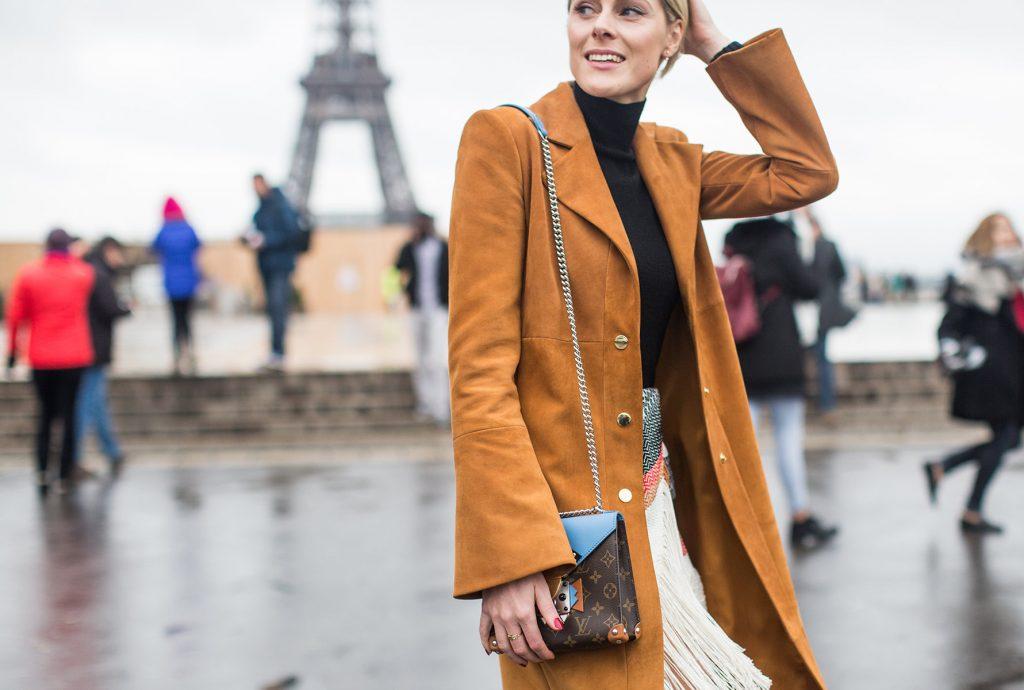 paris street style lv chanta