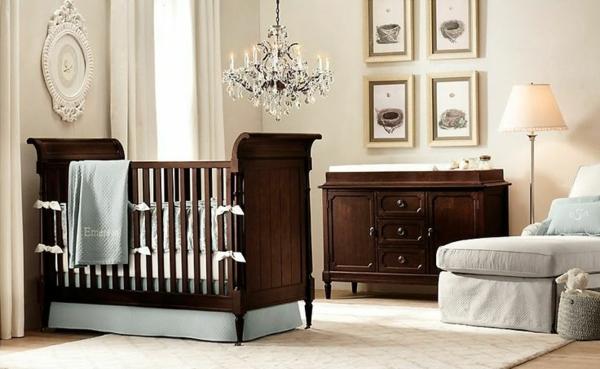 цветове за бебешка стая класически интериорен дизайн