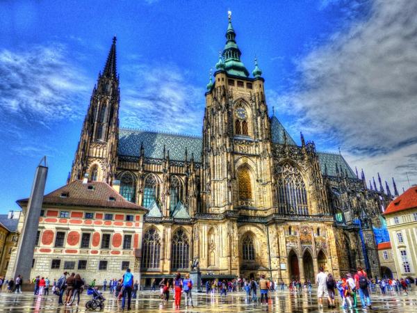 praga katedralata sveti vitus