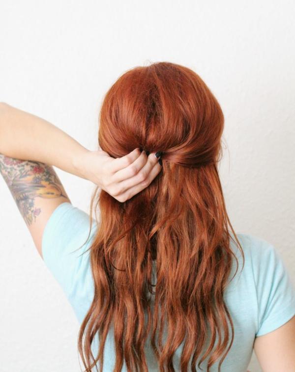 pricheska pribrana kosa dalga