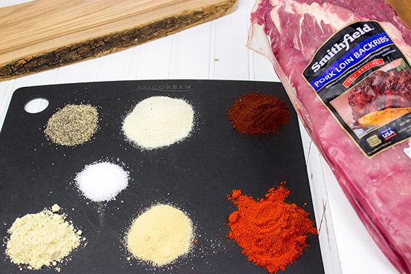 produkti svinski rebra sladko chili