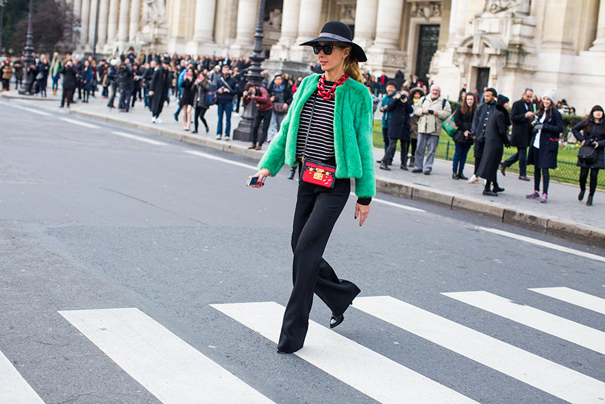 prolet vizii zeleno sako street style