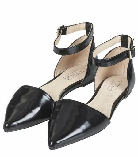 ravni ejednevni obuvki cherni