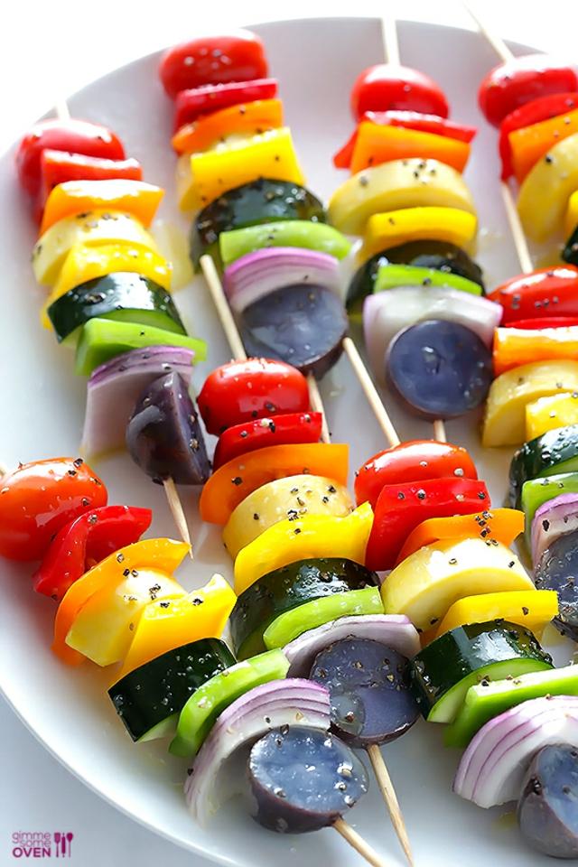 recepta vegetarianski cvetni shishcheta
