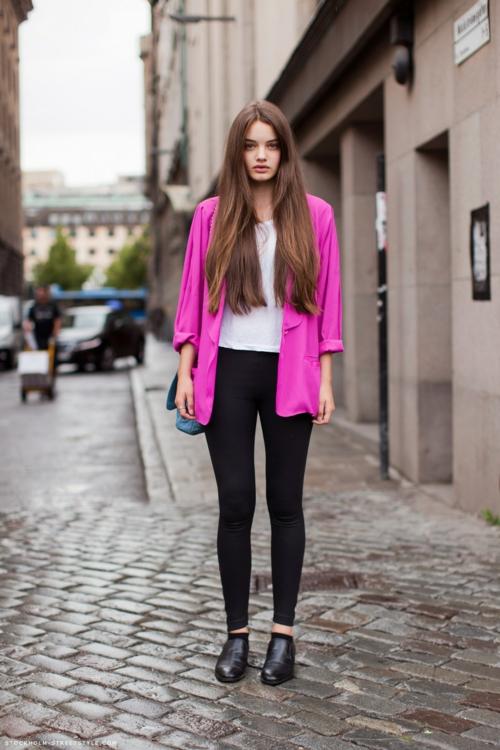 rozov bleizer street style