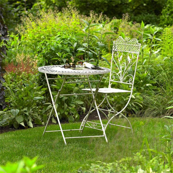 Съвети за градина метални столове