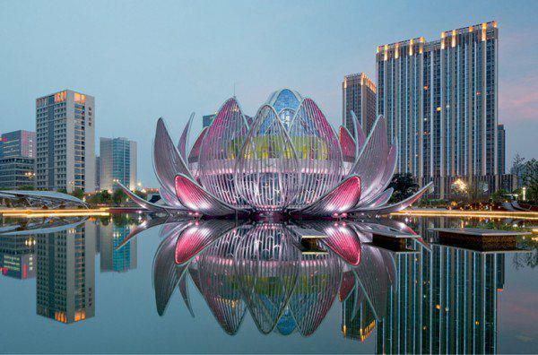 sgrada arhitektura lotus kitai
