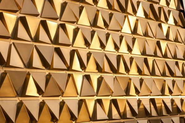 arhitektura zlato fasada