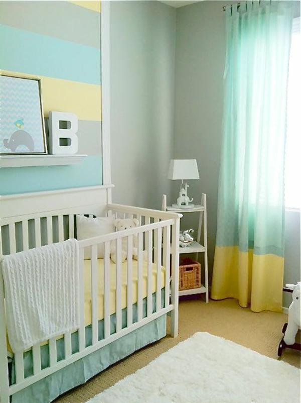 цветове за бебешка стая за момче