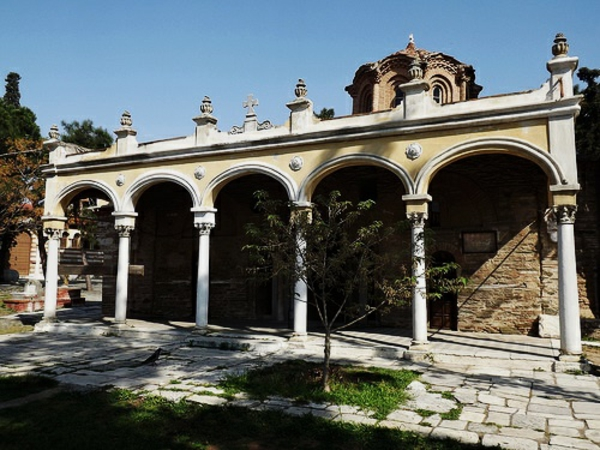 manastir na vlatadon solun garciq
