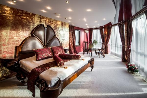 luksozen stil spalnq marsala bqlo interior