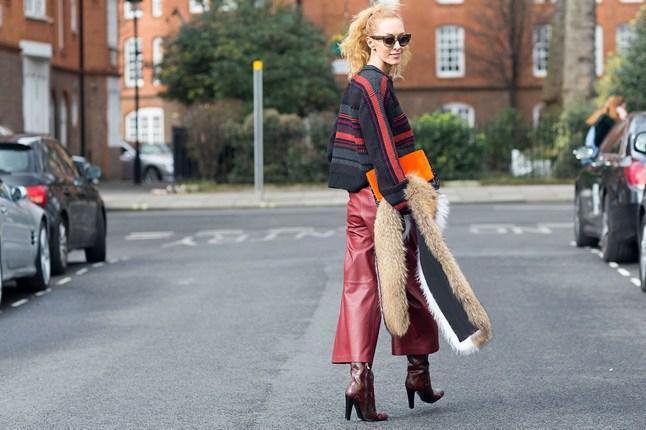 street-style london marsala