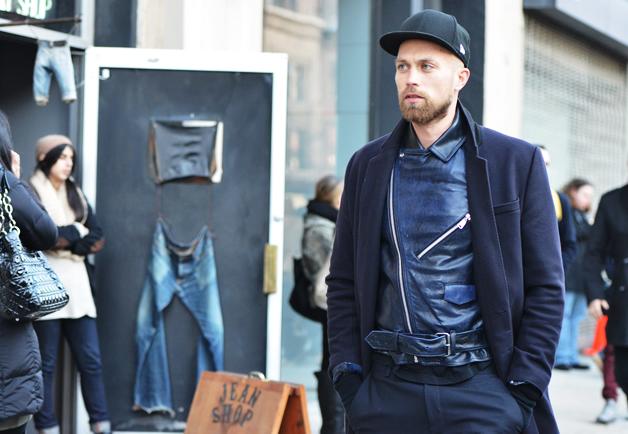 street style maje palto