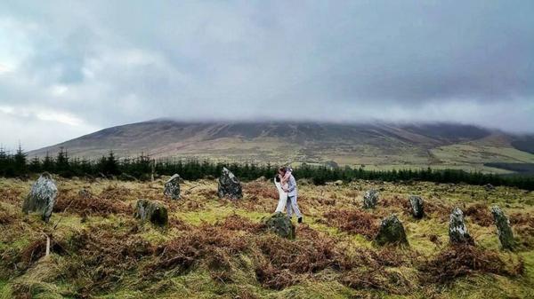 svatba planina polqna dvoika irlandiq