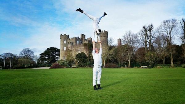 zamak irlandiq svatba dvoika