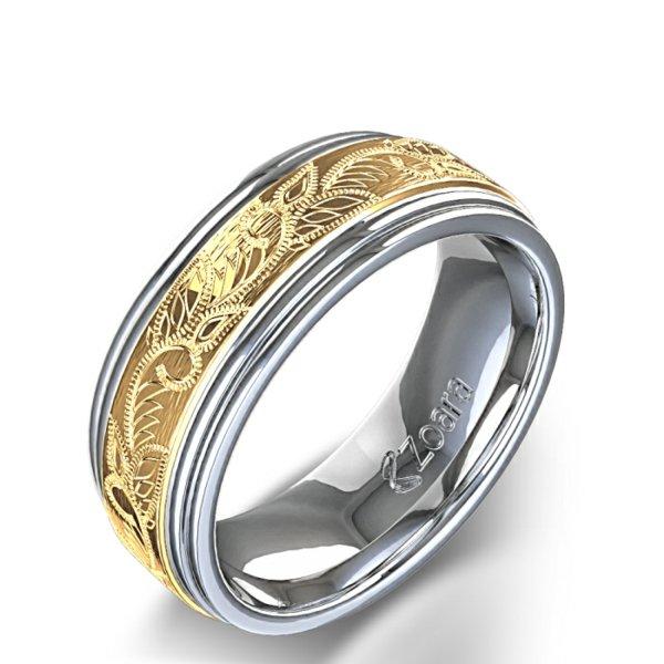 svatbeni halki bqlo jalto zlato retro stil
