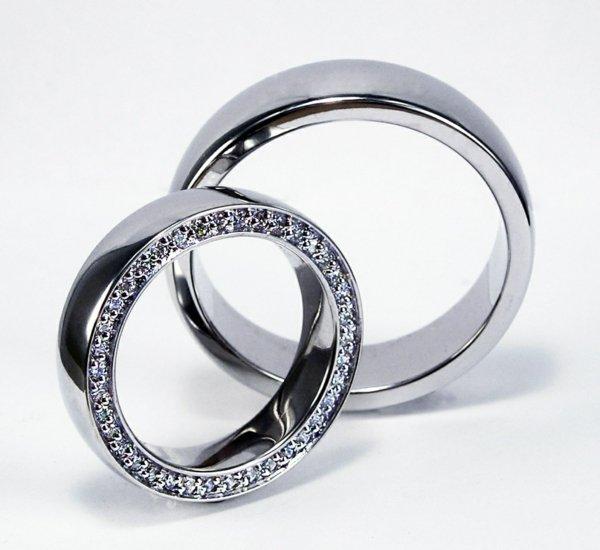 svatbeni halki bqlo zlato diamanti