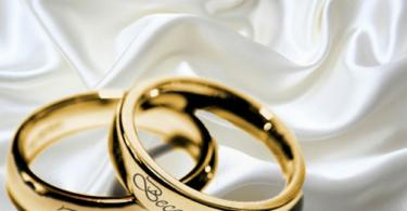 Сватбени халки символ на вечната любов