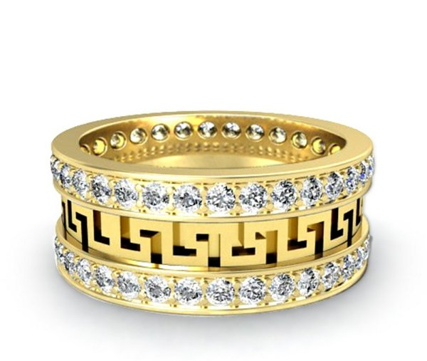 halka svatbena zlato diamanti