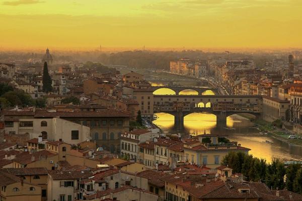 florenciq toskana mostove reka kashti