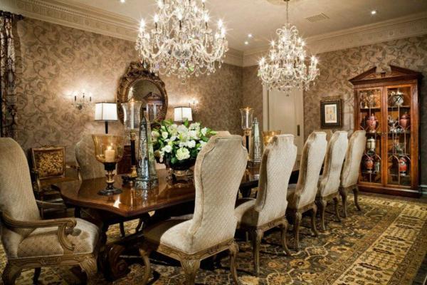 trapezariq luksozna klasicheski stil dekoraciq
