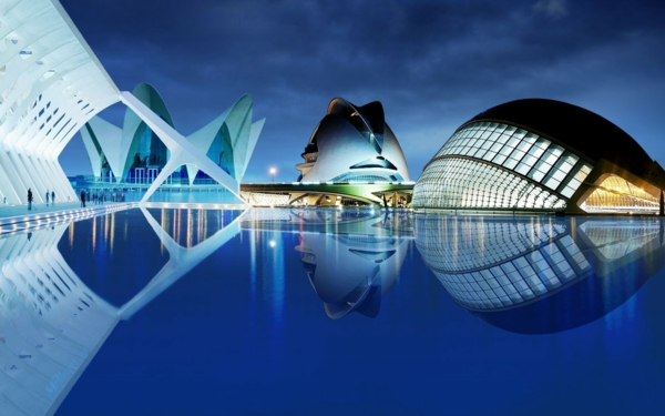 arhitektura futuristichen stil valensiq sgradi