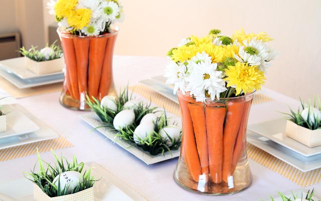 velikdenska dekoraciq za masa morkovi