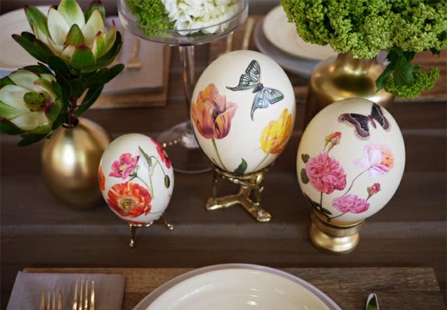 декупажни великденски яйца