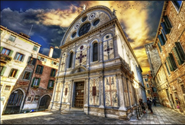 veneciq carkva Santa Maria dei Miracoli