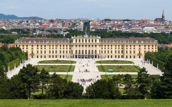 viena dvorec Schloss Schönbrunn