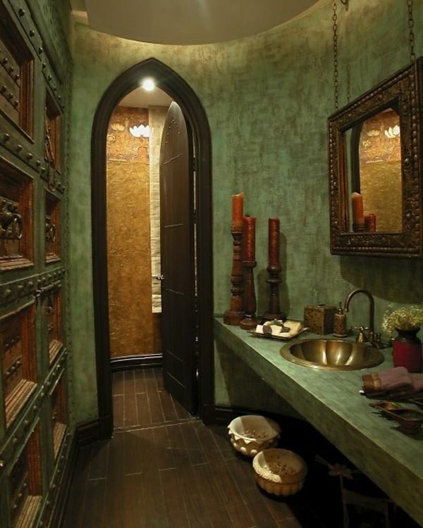 zelena banq arabski stil darven pod mivka