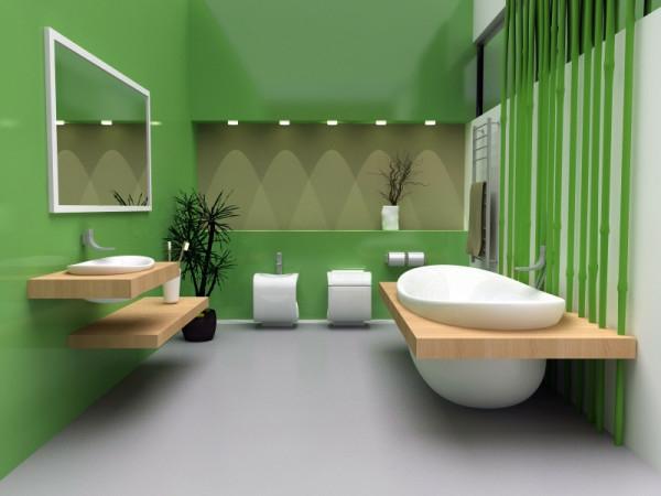 zelena banq zeleni steni bqla mivka