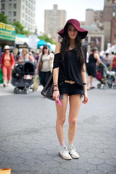 стрийт-стайл шапка летни визии