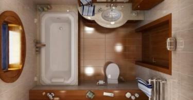 Дизайн на малка баня