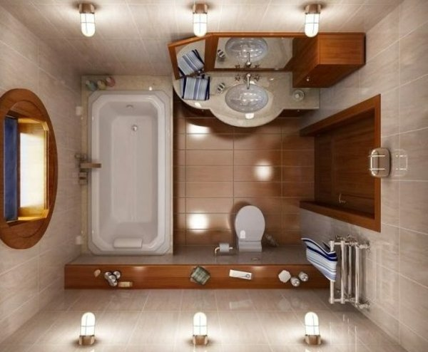 banq dizain bqlo vana interior kafqvo plochki