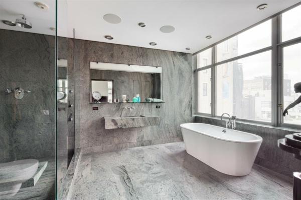 dizain banq interior obzavejdnae sivo mramor luksozen stil