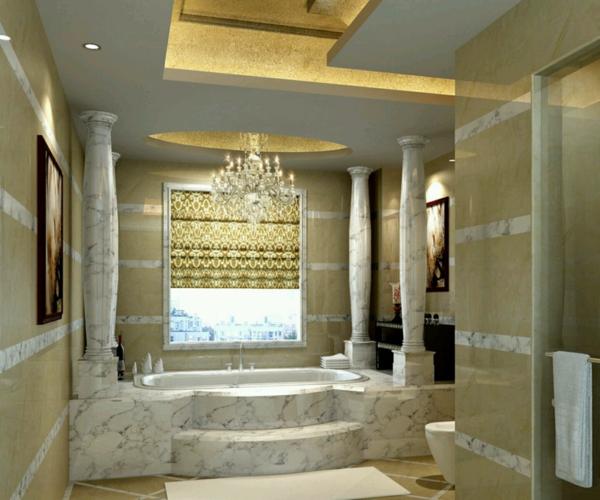 dizain interior banq mramor luksozen stil mramor vana