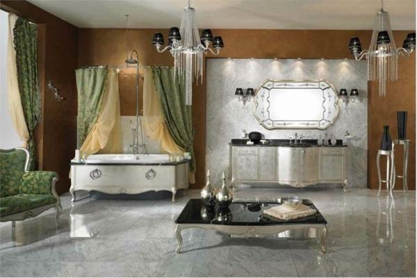dizain interioren banq luksozen stil obzavejdane bqlo zeleno vana