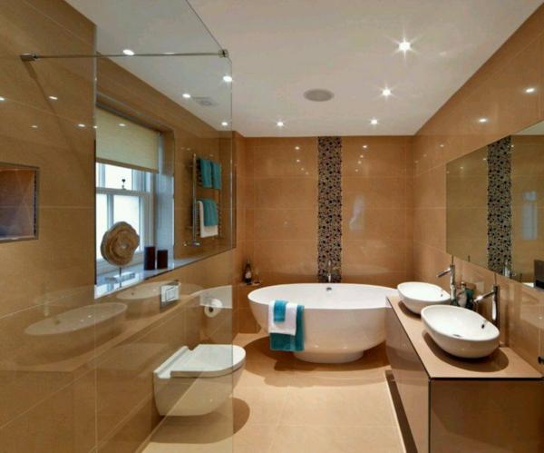 dizain interioren banq obzavejdane luksozen stil plochki bejovo vana bqlo