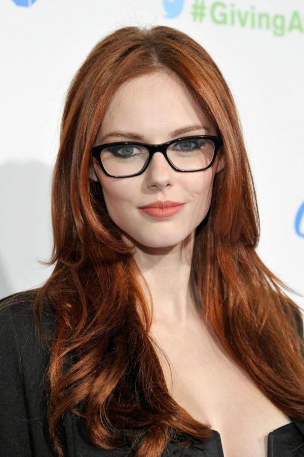 грим за дами с очила идеи червило