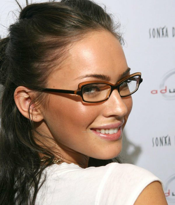 грим за дами очила меган фокс