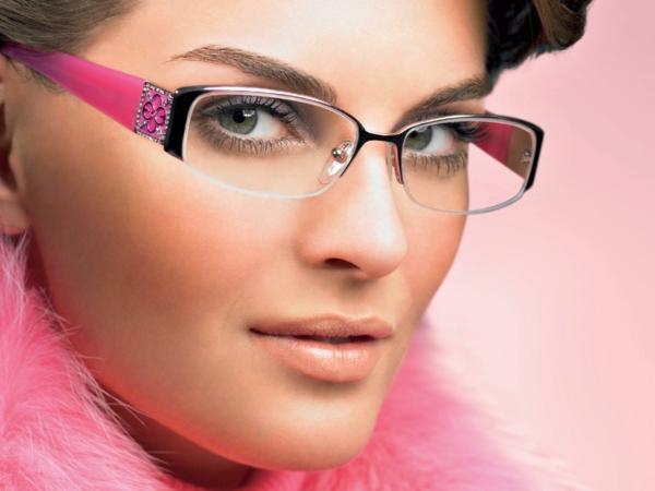 грим за дами с очила червило спирала