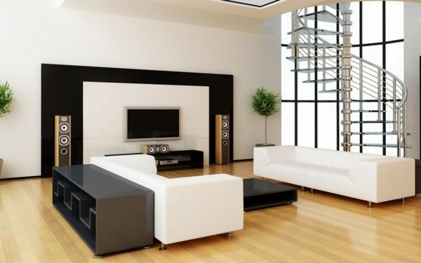 hol dizain interior minimalistichen stil obzavejdane