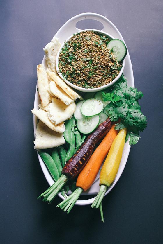 humus zelenchuci recepta vegan