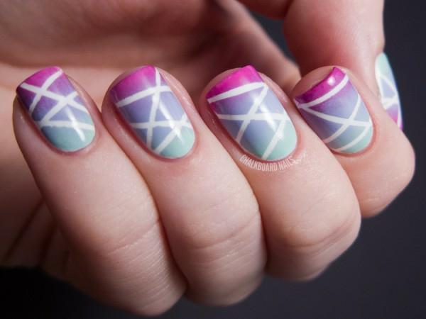 idei dizain manikiur linii bqlo lilavo rozovo