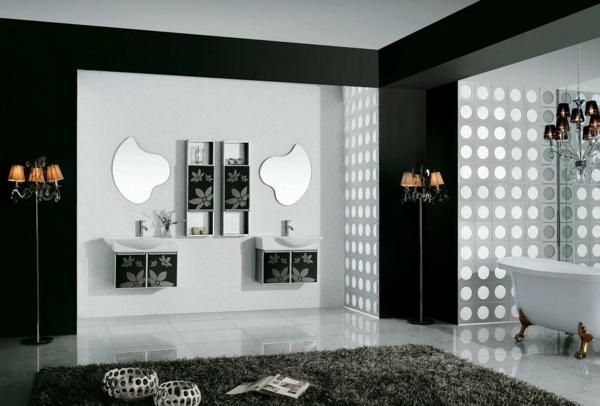 idei kilimche banq interior moderen stil sivo