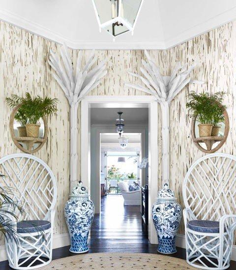 idei koridor dizain bahamski stil bqlo
