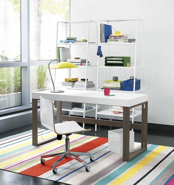 idei malko prostranstvo etajerka ofis stena biuro staq